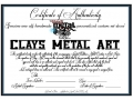 Certificate of Authenticity new small
